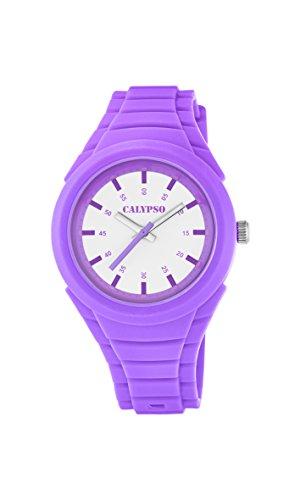 Calypso Reloj Análogo clásico para Unisex de Cuarzo con Correa en Plástico K5724/4
