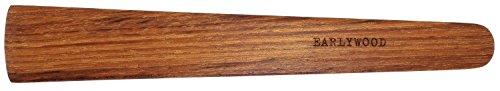 11 in Handmade Kitchen Cooking Utensil Thin Dark Wood Saute Spatula Multipurpose Flat Wooden Spatula Perfect for flipping scraping sauteing turning - Wooden Cooking Utensils - Made in USA - J