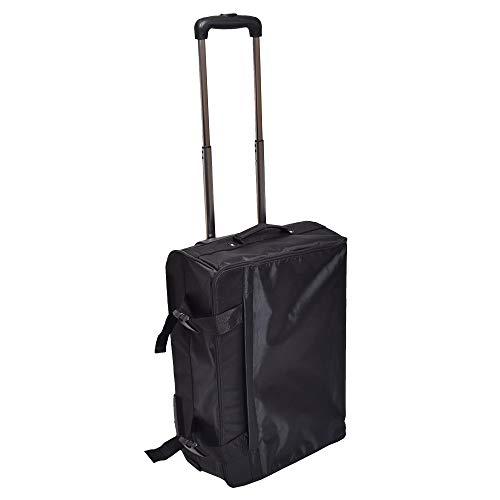 THANKO 省スペースで容量アップ「折りたたみスリムスーツケース」 CFSCBK20