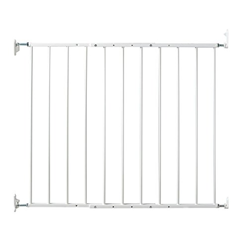 Kidco Safeway Gate, Top of Stairs Gate, White