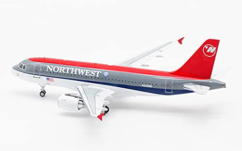 JFOX Northwest Airlines Airbus A319 N359NB 1/200 diecast Plane Model Aircraft