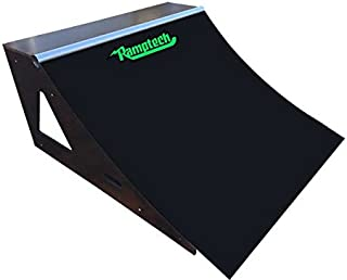 Ramptech 2' Tall x 4' Wide QUARTERPIPE Skateboard Ramp