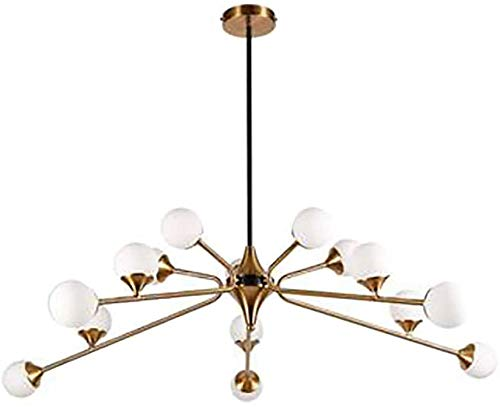 WZH Nordic Light Luxury Creative Living Room Chandelier Post Modern Dining Room Chandelier Lighting Lamp
