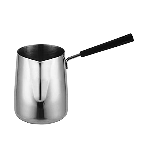 Baalaa Long Handle Wax Melting Pot Candle Soap Melts Pot Scented Wax Melts Metal Coffee Pitcher Latte Milk Frothing Jug, 600ML