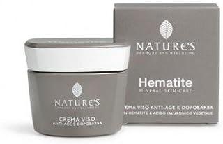 3x Biosline Nature's HEMATITE crema viso anti-age 50ml con acido ialuronico vegetale - NT INTEGRATORI