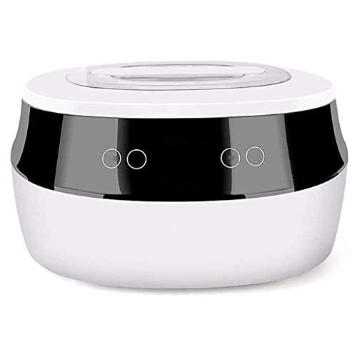 XJJZS Automático de la máquina Fabricante de Yogur con 6 tarros de Cristal, Diseño de Acero Inoxidable for Uso en el hogar