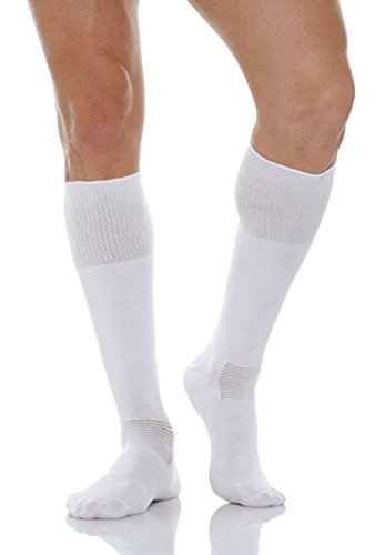 Relaxsan 560L (Weiß, Gr.1) Socken Diabetes mit Naturfasern Crabyon