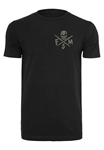 Famous Stars and Straps Herren Stick It Tee T-Shirt, Black, M