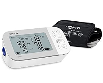OMRON Gold Blood Pressure Monitor Premium Upper Arm Cuff Digital Bluetooth Blood Pressure Machine Stores Up To 120 Readings for Two Users  60 readings each