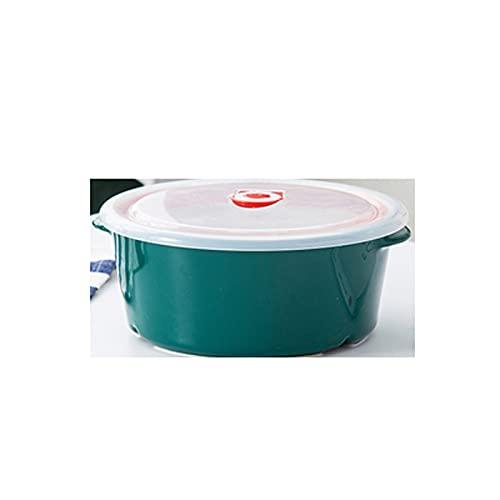 ZHANGJINYISHOP2016 Caja de Bento Bento Box para Adultos Lugares de Almuerzo para niños Compartimiento Caja de Almuerzo Recipientes de Comida a Prueba de Fugas de Vidrio de Cuenco Fresco