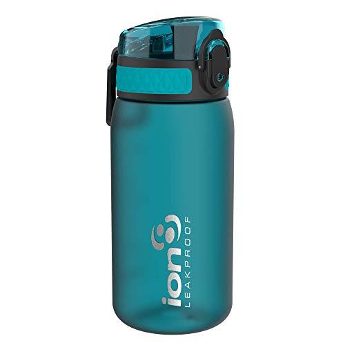 Ion8 Gourde Enfant Étanche, sans BPA, Aqua