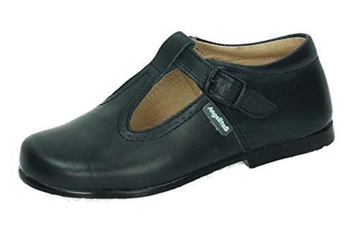 ANGELITOS 503 PEPITOS Piel NIÑO Zapatos MOCASÍN Marino 27