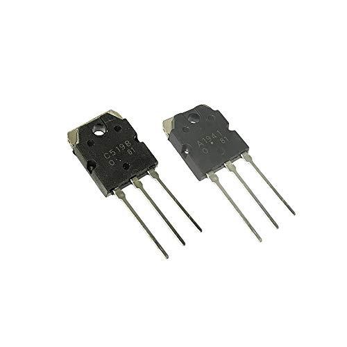 Landa tianrui 1pairs 2SC5198 2SA1941 TO3P (A1941 + C5198) TO3P Transistor Audio gepaart triode