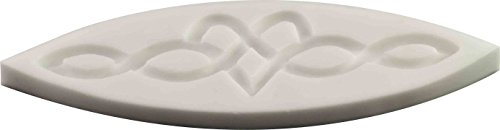 Celtic heart knot Silicone Mold | Non-stick food grade mold, fondant mold, candy mold, resin mold, fimo mold, clay mold, soapmaking mold