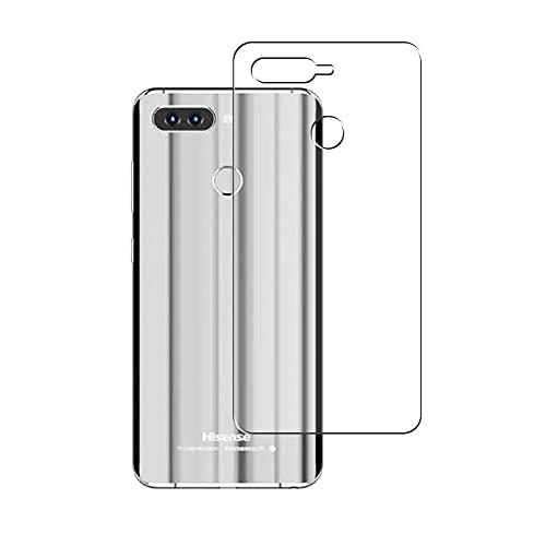 Vaxson 2 Stück Rückseite Schutzfolie, kompatibel mit Hisense Infinity H11 Pro, Backcover Skin TPU Folie [nicht Panzerglas/nicht Front Bildschirmschutzfolie]