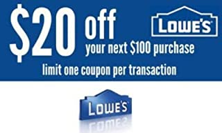 lowes 20 off code