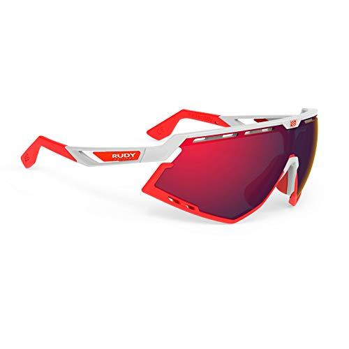 Rudy Project – Defender Bike Brille (Rot), Unisex adulto, color rojo, tamaño talla única