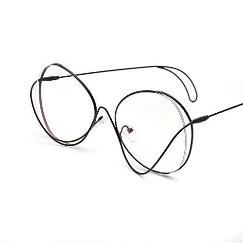 ZZZXX Gafas De Sol MujeresPersonalidad Metal Masculino Y Femenino Polarizadas Uv400 Protección Para Conducir Pesca Al Aire Libre Marco De Acetato,Con Caja De Regalo Y Paño Para Vasos