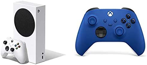 Xbox Series S + Xbox Wireless Controller, Blu Shock