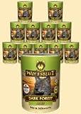Warnicks Tierfutterservice Wolf Sangue Dark Forest Adult Alimento umido per cani con Wild e suesskartoffeln