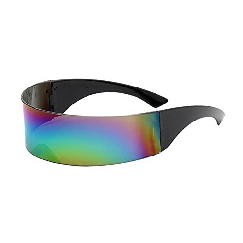 Gafas de fiesta Gafas de sol de la moda One Gafas de sol Gafas de fiesta Gafas de sombra Gafas de sol grande Gafas de sol Montar Vidrios a prueba de viento Gafas de personalidad ( Color : 4 )