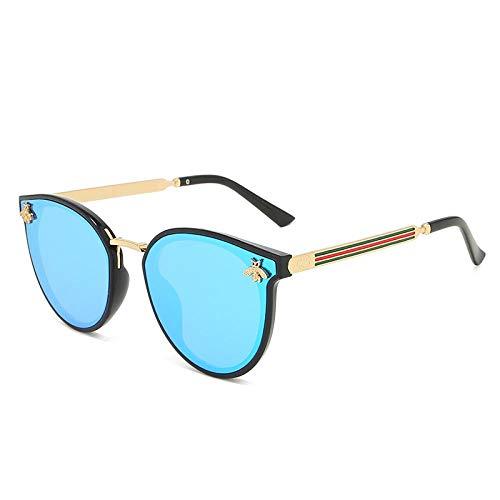 Gafas De Sol Polarizadas Nuevas Gafas De Sol De Abeja Rojo Verde Gafas De Sol UV De Moda Gafas Vintage Gafas De Sol Retro Gafas De Sol Gafas De Sol Redondas C8