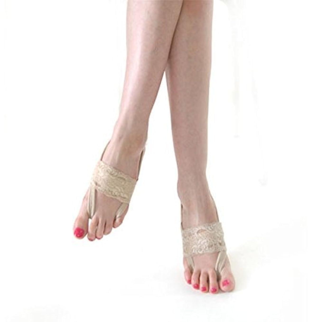 したい賛辞人気の足が疲れにくい アシピタ 【 ベージュ Sサイズ ソックス 】むくみ 冷え 美脚 美姿勢をサポート 21-23cm