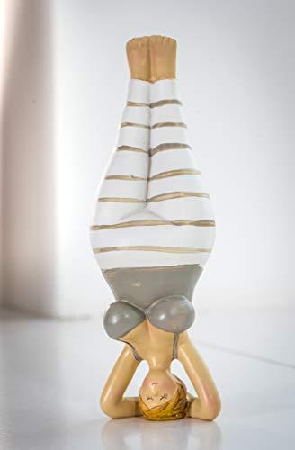 Wohnideen Kupke Deko Figur Jule 20cm Yoga Figur Kopfstand