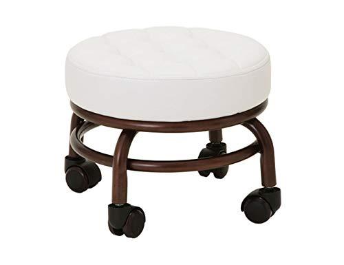 Pedicure silla pie taburete salón de belleza footstool sillones Sillon Saureta dos colores opcional Elitzia ET28499 (Blanco)
