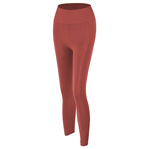 MItrilifi 2 ALL Pantalones De Yoga Pantalones De Yoga para Mujer Al Aire Libre Push Up Leggings Deportivos De MelocotóN Running Joggings Fitness Trainning Gym Leggings S Orange