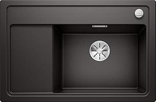 Blanco Zenar XL 6 S Compact Silgranit PuraDur schwarz Be re O.ZUB. M.AF.