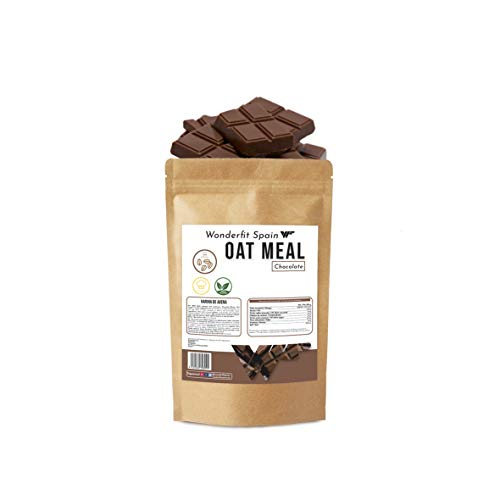 Harina de avena   Sabor Chocolate   Fuente natural de Fibra