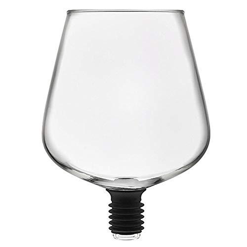 Copas de vino inquebrantable Copa de vino gigante Utensilios for Bar transparente...
