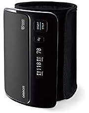 上腕式血圧計 HEM-7600T-BK ブラック オムロン(OMRON)