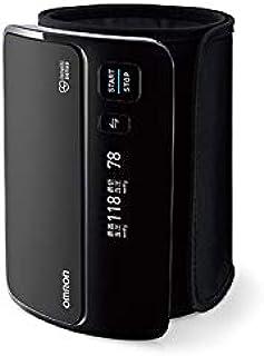 オムロン 上腕式血圧計 ブラック HEM-7600T-BKN