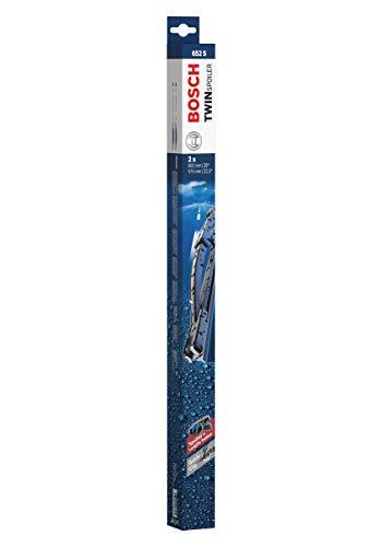 Bosch Scheibenwischer Twin Spoiler 652S, Länge: 650mm/575mm – Set für Frontscheibe