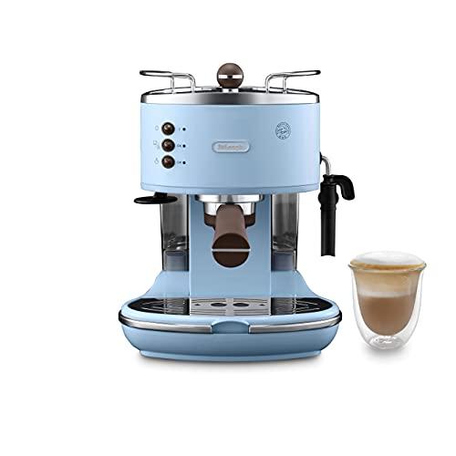 Delonghi ECOV311.AZ Icona vintage tradycyjna pompka ekspres do kawy espresso