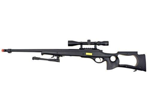 well awn g22 heavy single bolt action sniper airsoft rifle(Airsoft Gun)