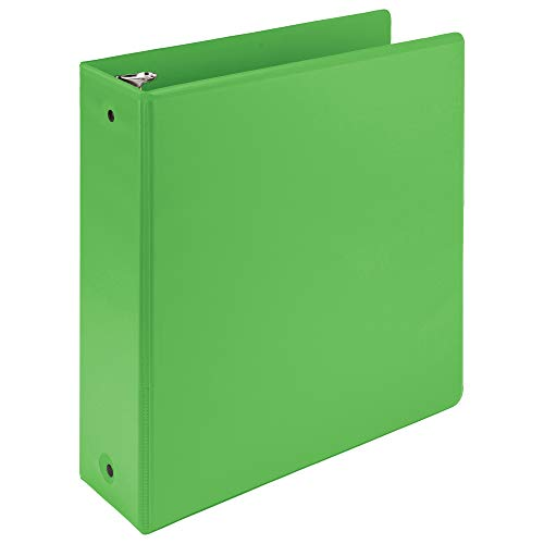 Samsill Earth's Choice Biobased 3 Ring View Binders, 3 Inch Round Ring, Up to 25% Plant Based Plastic, USDA Certified Biobased, Eco-Friendly, Green