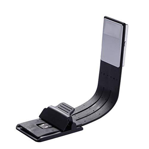 Clip On Buch Licht Leselampe USB Wiederaufladbare Leselampe Augenpflege Doppelt als Lesezeichen Flexibles Lesen von Büchern #Pennytupu