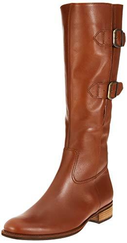 Gabor Shoes Damen Fashion Hohe Stiefel, Braun (Sattel 22), 38 EU