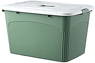 FEIMENGAIBBcwl basket, Household Storage Box, Suitable For Storing Cosmetics And Household Sundries, Green, Plastic Materi...