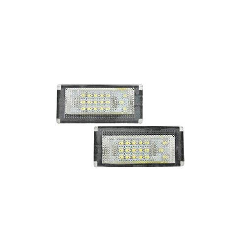 AutoStyle V-030102 Satz Passform LED Nummerschildbeleuchtung - Mini One/Cooper/S/Cabrio R50/R52/R53 2001-2006