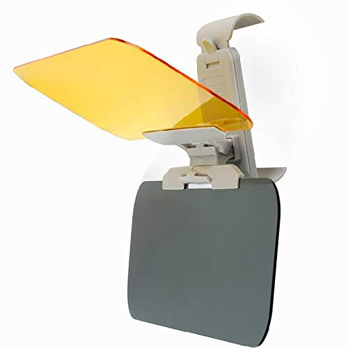 Visera Del Coche Coche Visera HD anti deslumbrante luz del sol gafas de visión nocturna Día de conducción espejo UV Fold, tapa de la visión clara Car Styling Visera Parasol Coche