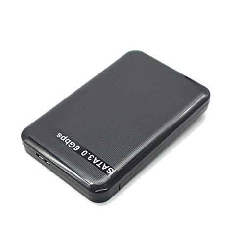 Disque Dur Multimedia, Alliage D'aluminium, Sauvegarde USB 3.0 2,5 Pouces HDD Portable pour PC, Mac, TV, Bureau, Ordinateur Portable, PS4, Xbox, Disque Dur Externe...