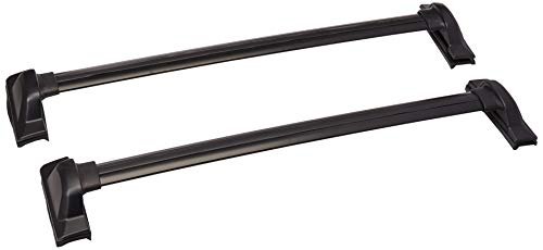 Spec-D Tuning RRB-CRV07BK Honda CRV Aluminum Roof Top Roof Rack Black Cross Bar Max Load 150Lbs