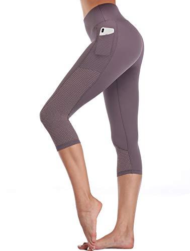 (30% OFF Deal) Workout Running Capri Leggings $13.99
