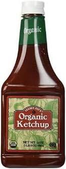 Trader Joe's Organic Ketchup 24 oz (Pack of 3)