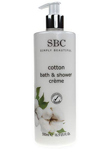 SBC Cotton Bath & Shower Crème - Cotton Duschcreme 500ml