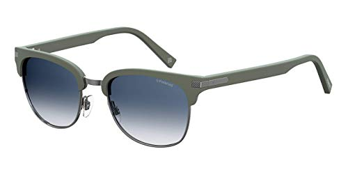 Polaroid PLD 2076/S Gafas de sol, Multicolor (Green), 53 para Hombre